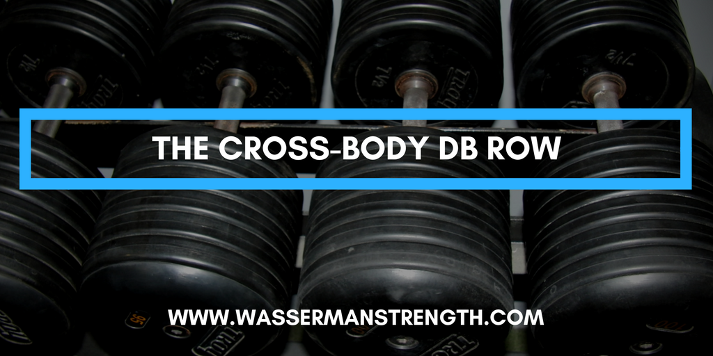 The Cross Body DB Row