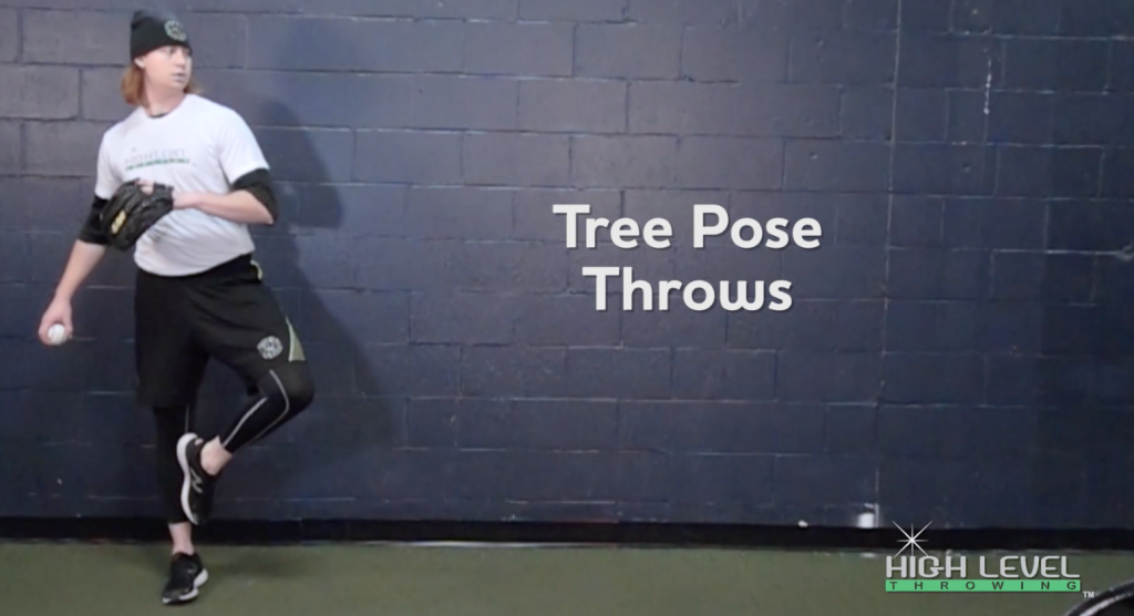 "Clean up Lower Half Patterning with The ""Tree Pose"" Throw"