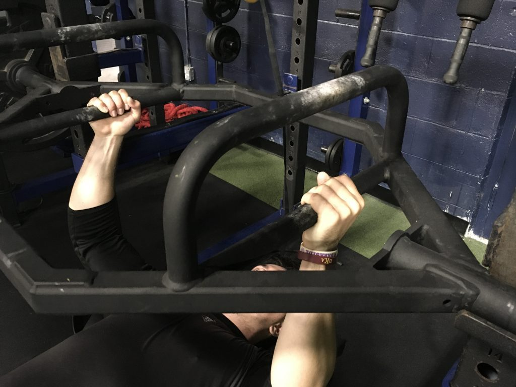 """The """"Trap Bar Bench Press"""" and Why We May Use It."""